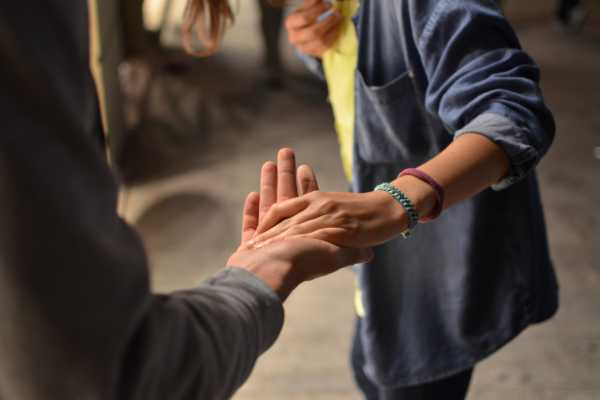 inspiring helping hand