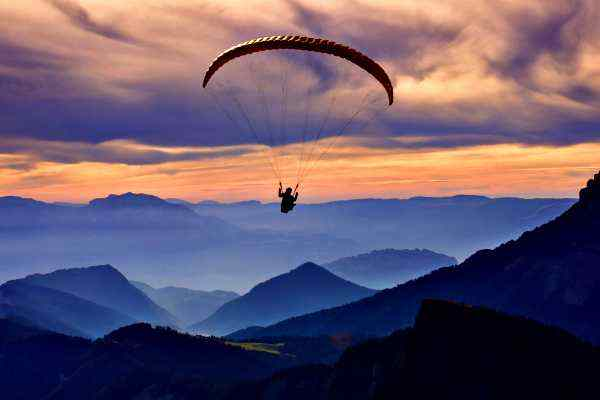 How is Meditation Like Skydiving