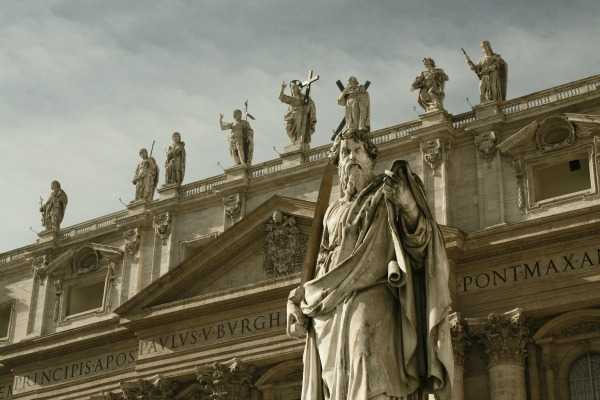 statue of Saint Paul St Peters BasilWere All the Great Sages Teachers of Hermetics?