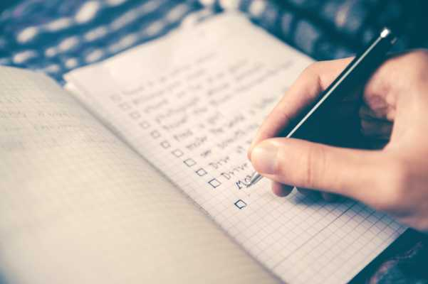 SMART goals building good behaviors