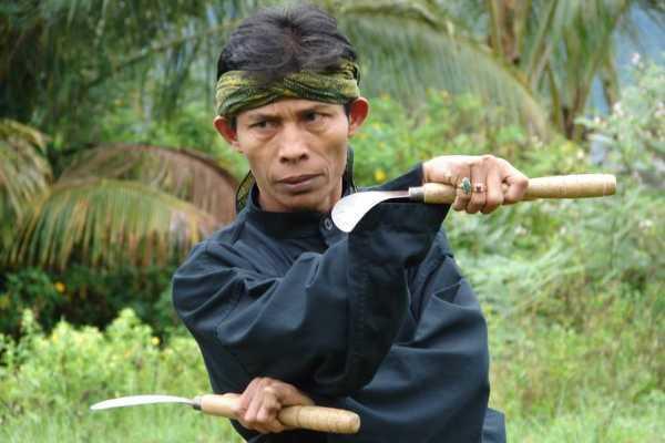 Martial Arts Master Guru Syofyan Nadar Pencak Silat