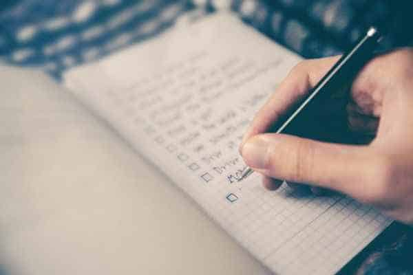 Spiritual Maintenance Checklist